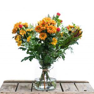gemengd bloemen boeket