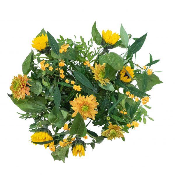 bloemen met gele tinten