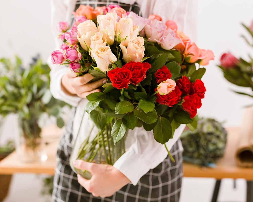 bloemen met gratis bezorging
